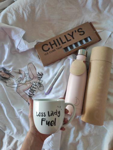 Chilly's Bottles - BLUSH PINK photo review